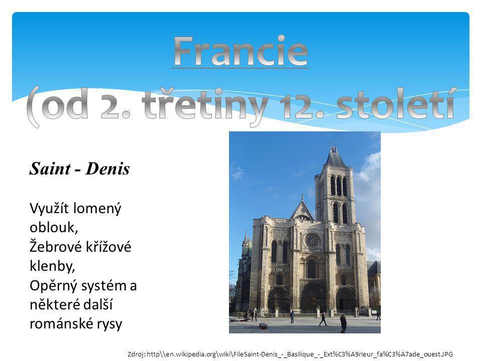 Francie (od 2. třetiny 12. století