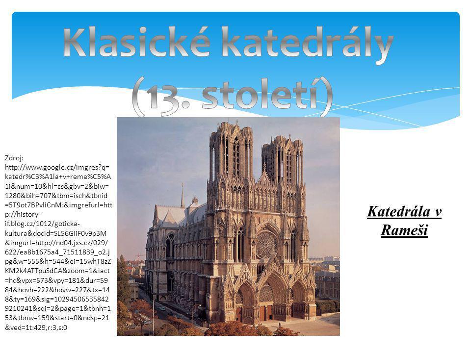 Klasické katedrály (13. století)