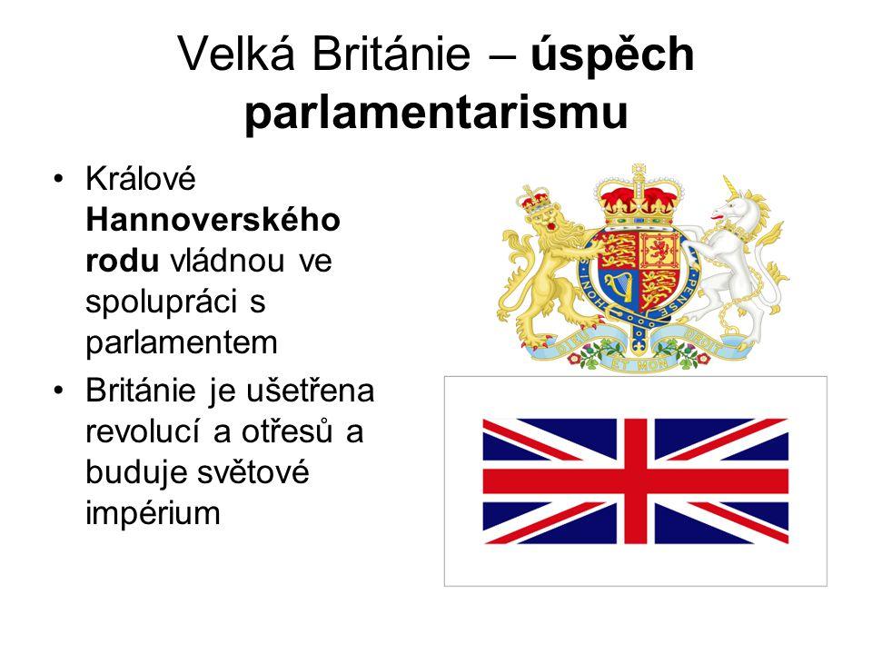 Velká Británie – úspěch parlamentarismu