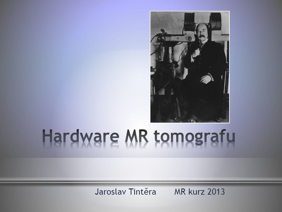 Jaroslav Tintěra MR kurz 2013