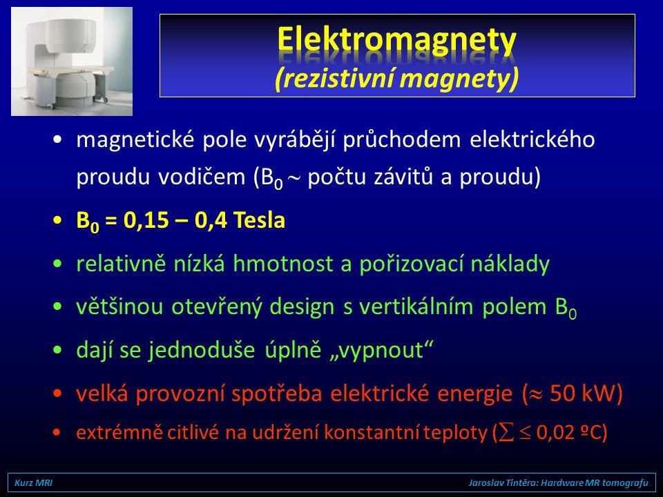 Elektromagnety (rezistivní magnety)