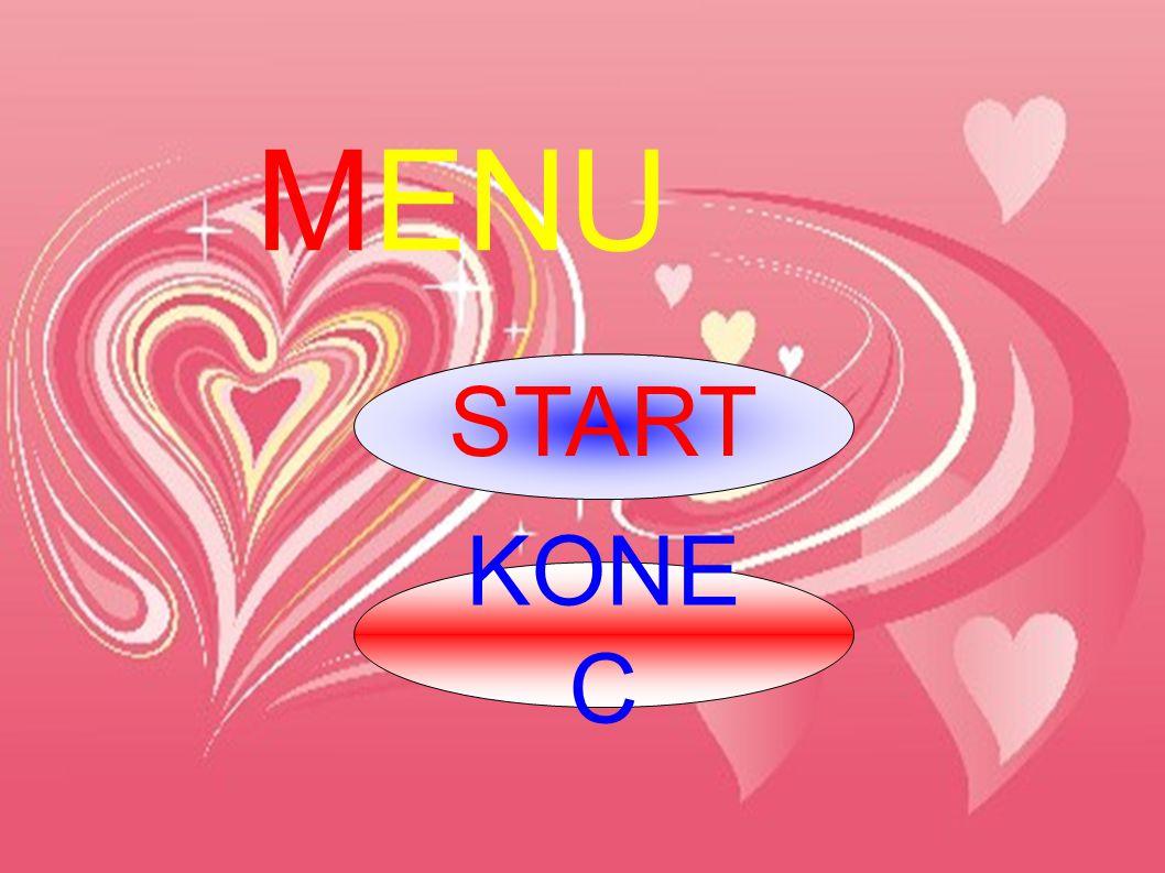 MENU START KONEC