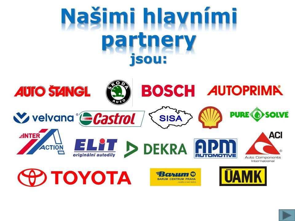 Našimi hlavními partnery jsou:
