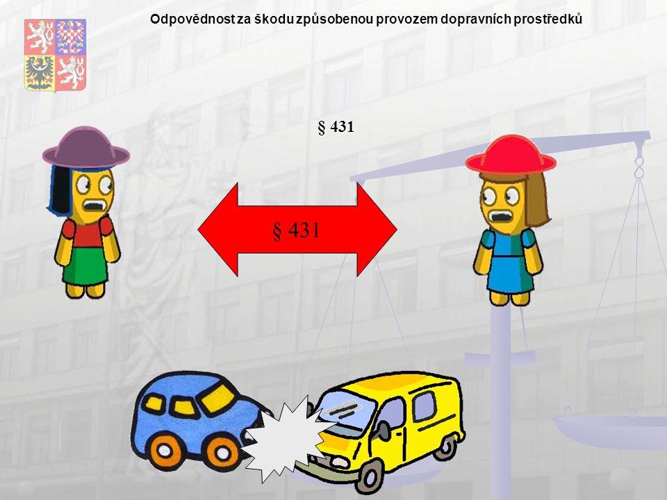 Odpovědnost za škodu způsobenou provozem dopravních prostředků