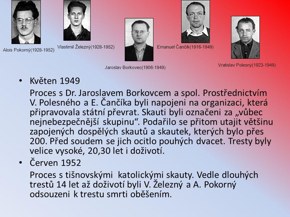 Vlastimil Železný(1928-1952) Emanuel Čančík(1916-1949) Alois Pokorný(1928-1952) Vratislav Polesný(1923-1949)