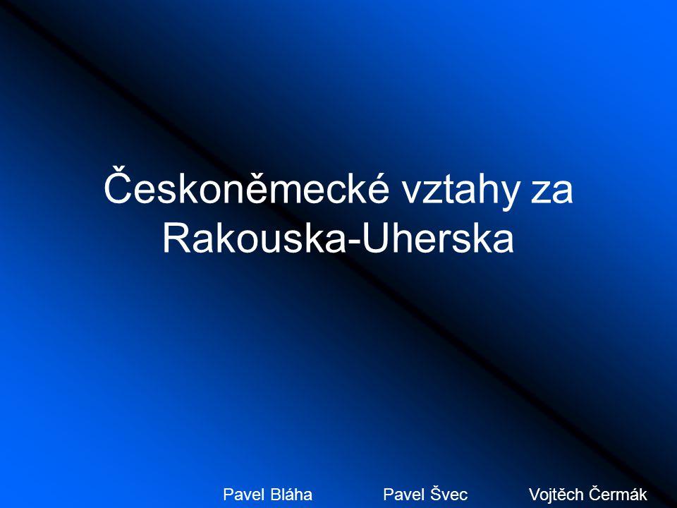 Českoněmecké vztahy za Rakouska-Uherska