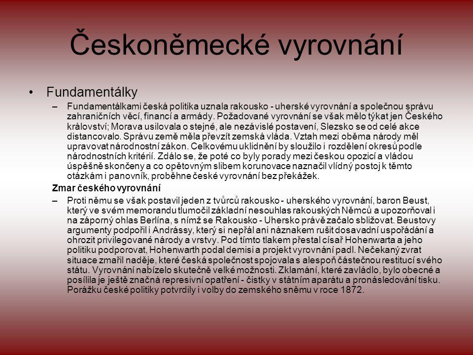 Českoněmecké vyrovnání