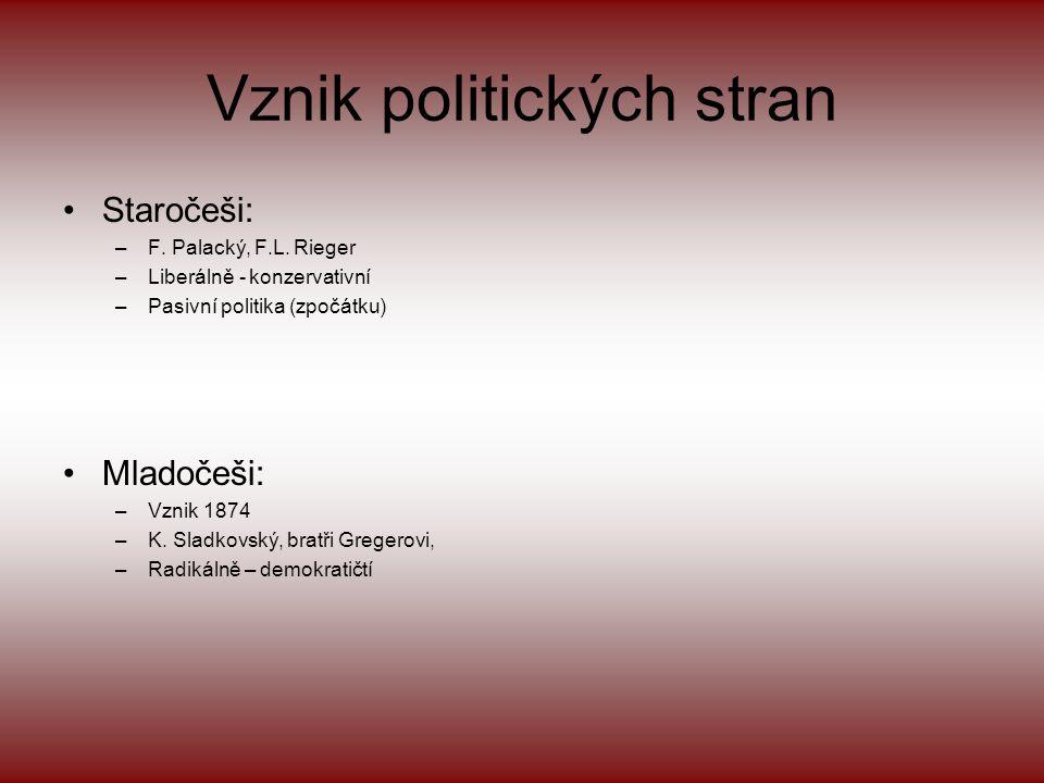 Vznik politických stran