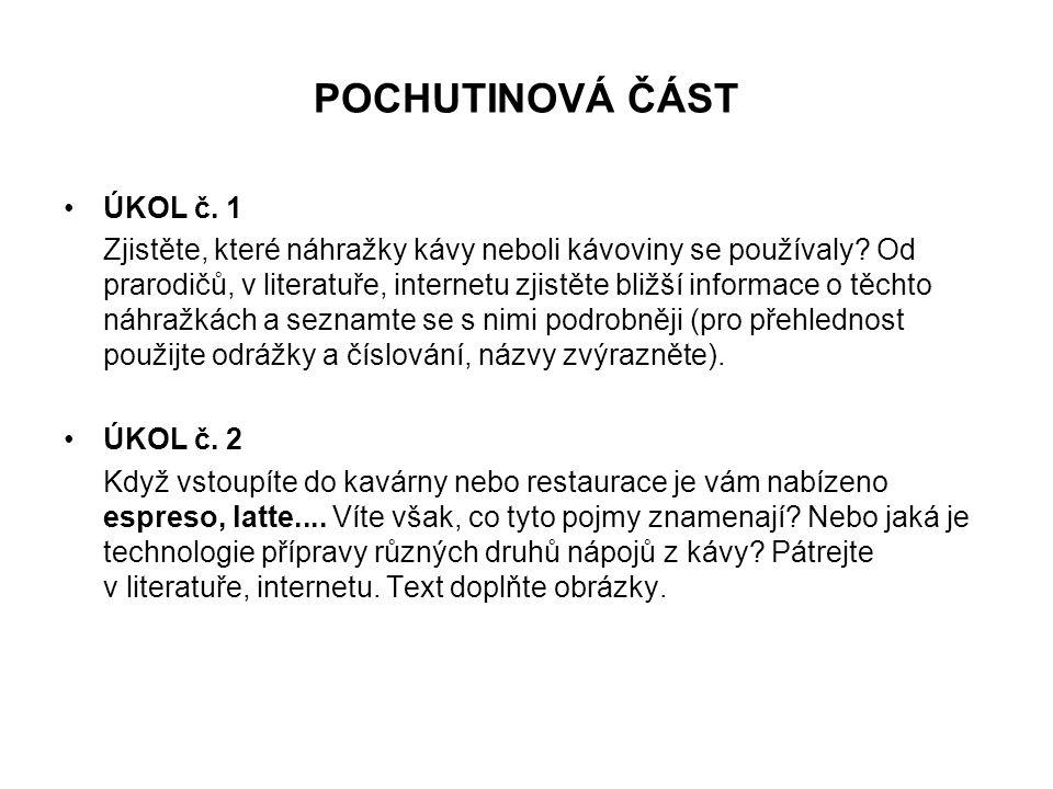 POCHUTINOVÁ ČÁST ÚKOL č. 1
