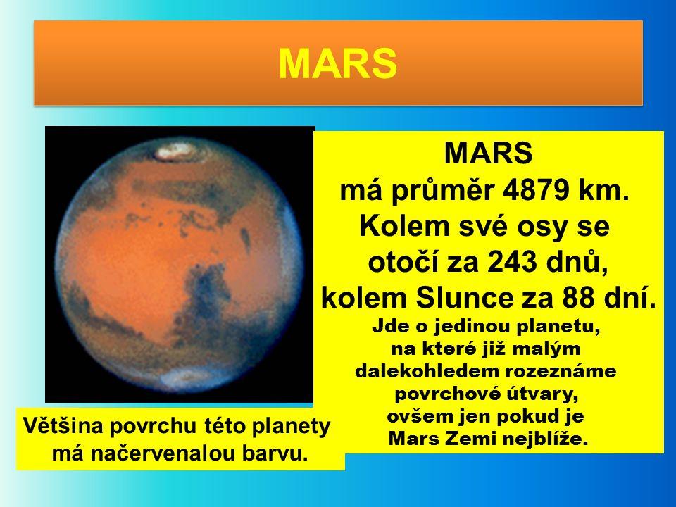 Většina povrchu této planety
