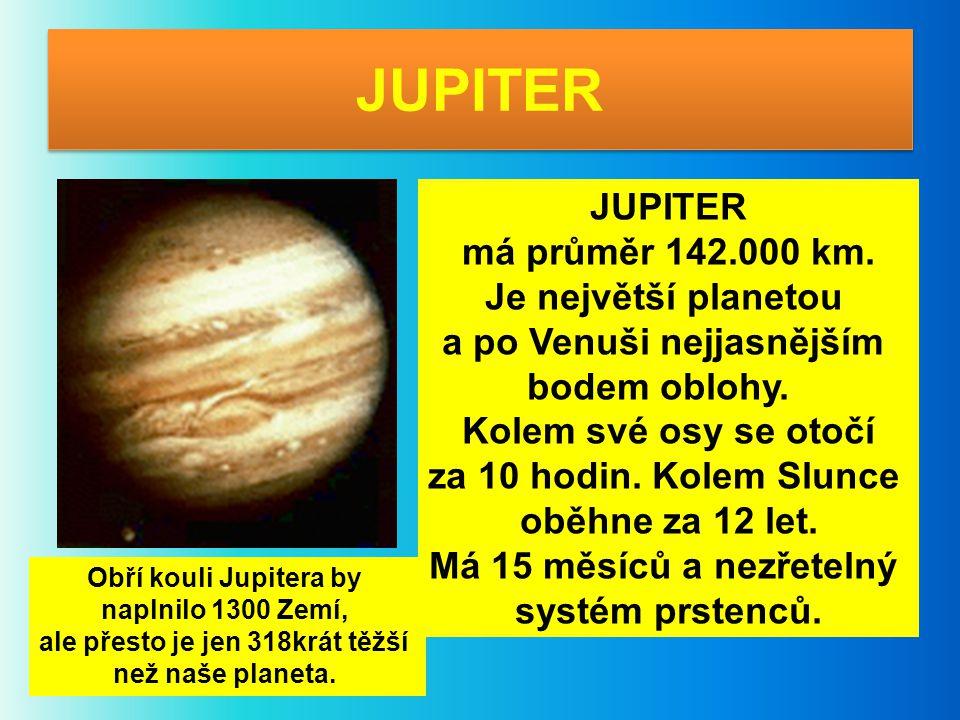a po Venuši nejjasnějším ale přesto je jen 318krát těžší