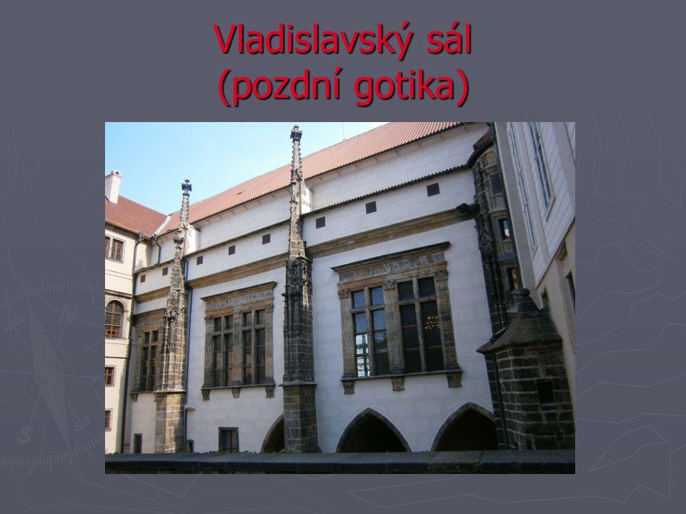 Vladislavský sál (pozdní gotika)