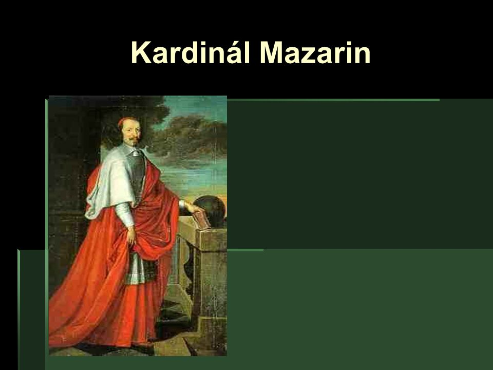 Kardinál Mazarin