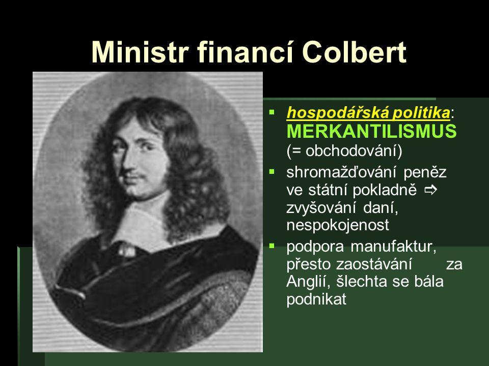Ministr financí Colbert