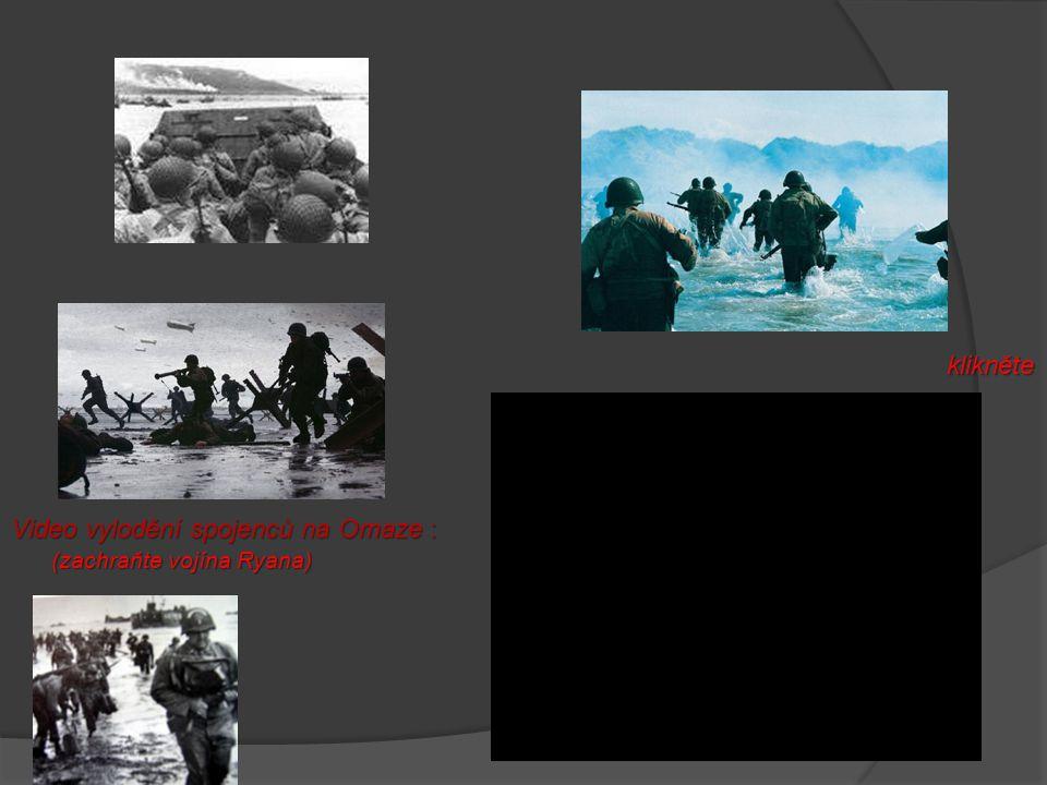 Video vylodění spojenců na Omaze :