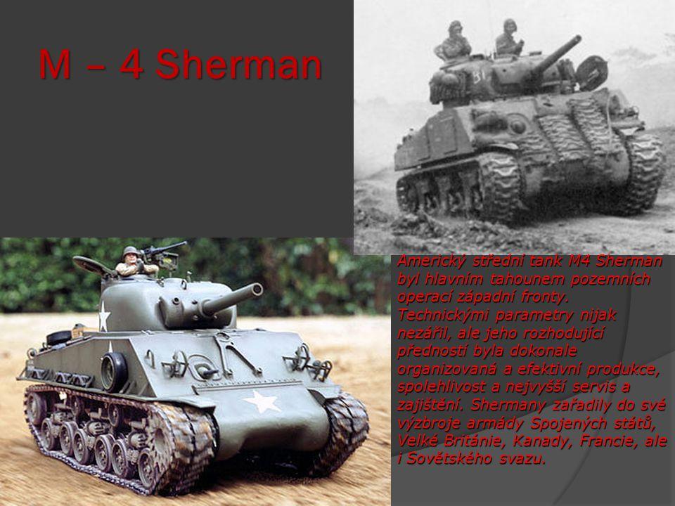 M – 4 Sherman