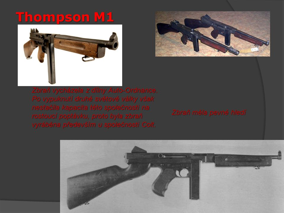 Thompson M1
