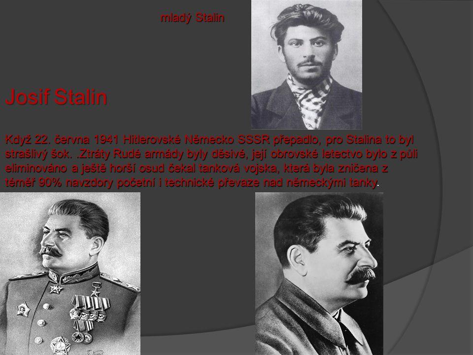 Josif Stalin mladý Stalin