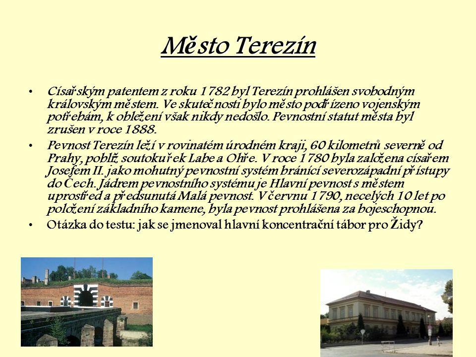 Město Terezín