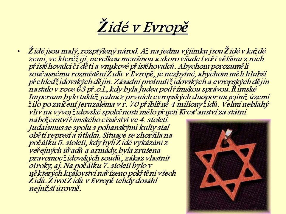 Židé v Evropě