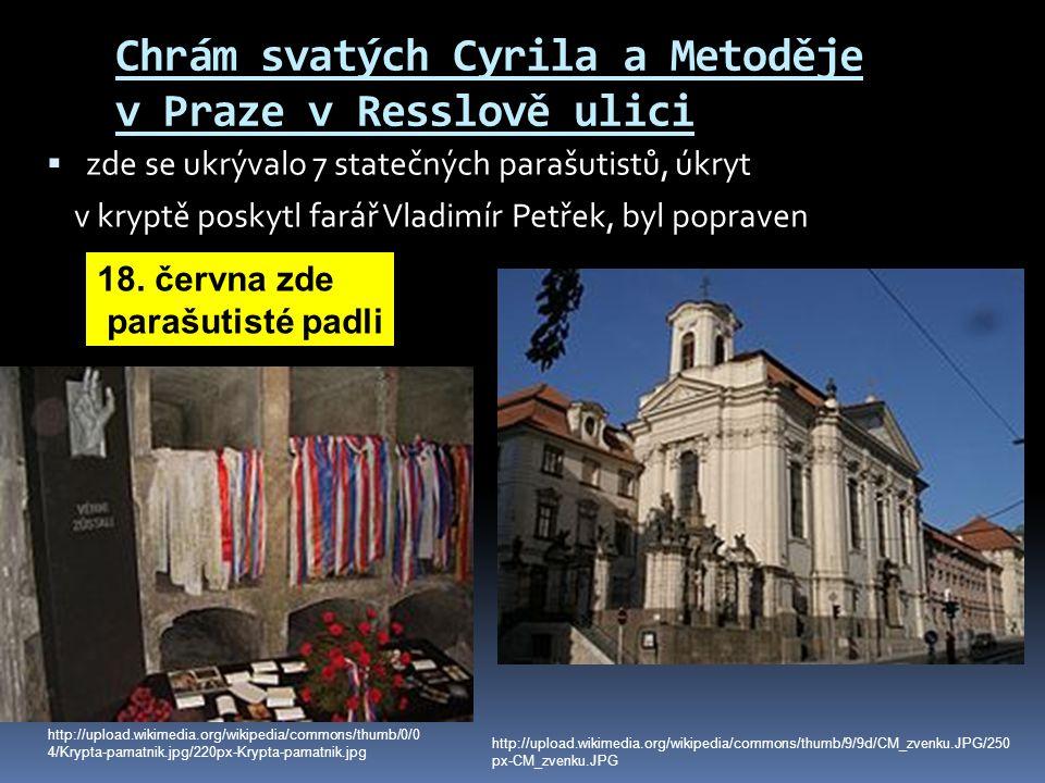 Chrám svatých Cyrila a Metoděje v Praze v Resslově ulici