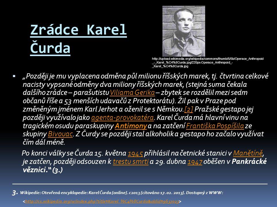 Zrádce Karel Čurda