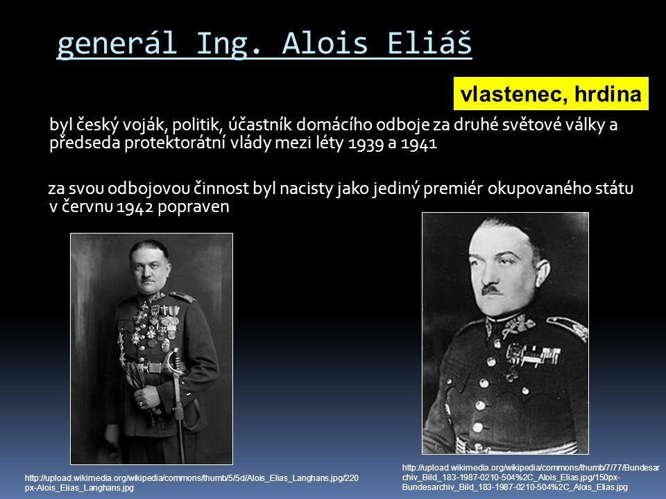 generál Ing. Alois Eliáš