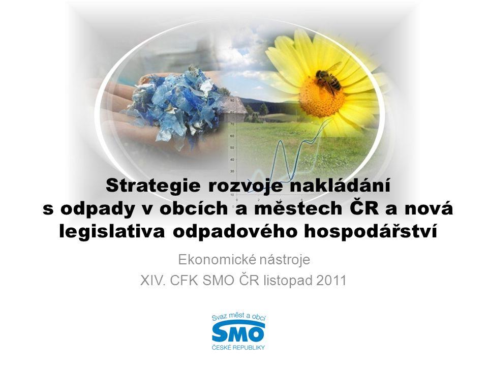 Ekonomické nástroje XIV. CFK SMO ČR listopad 2011