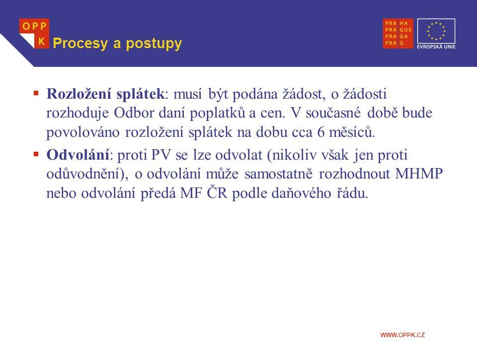 Procesy a postupy