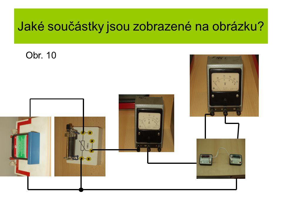 Jaké součástky jsou zobrazené na obrázku