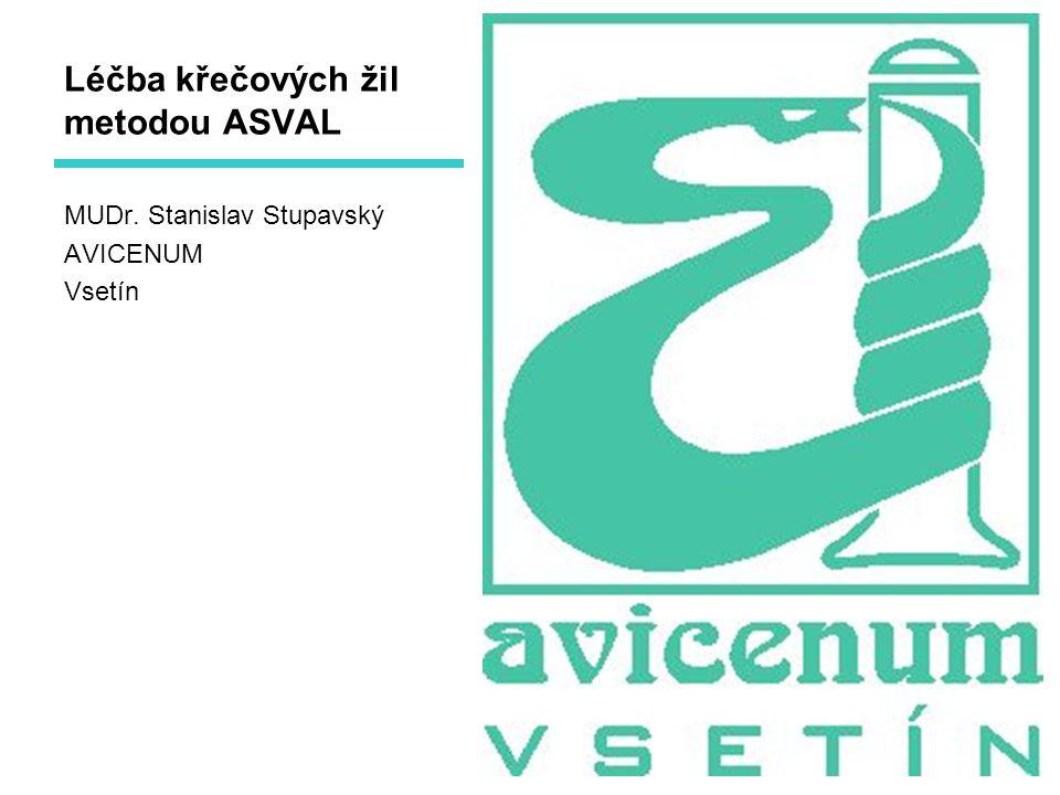 Léčba křečových žil metodou ASVAL