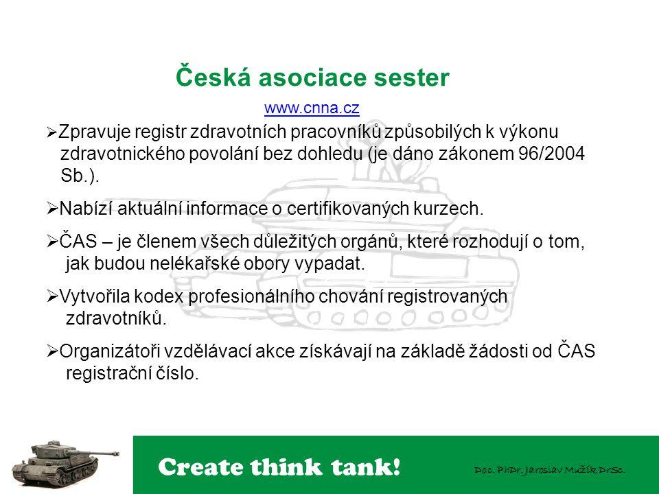Česká asociace sester www.cnna.cz