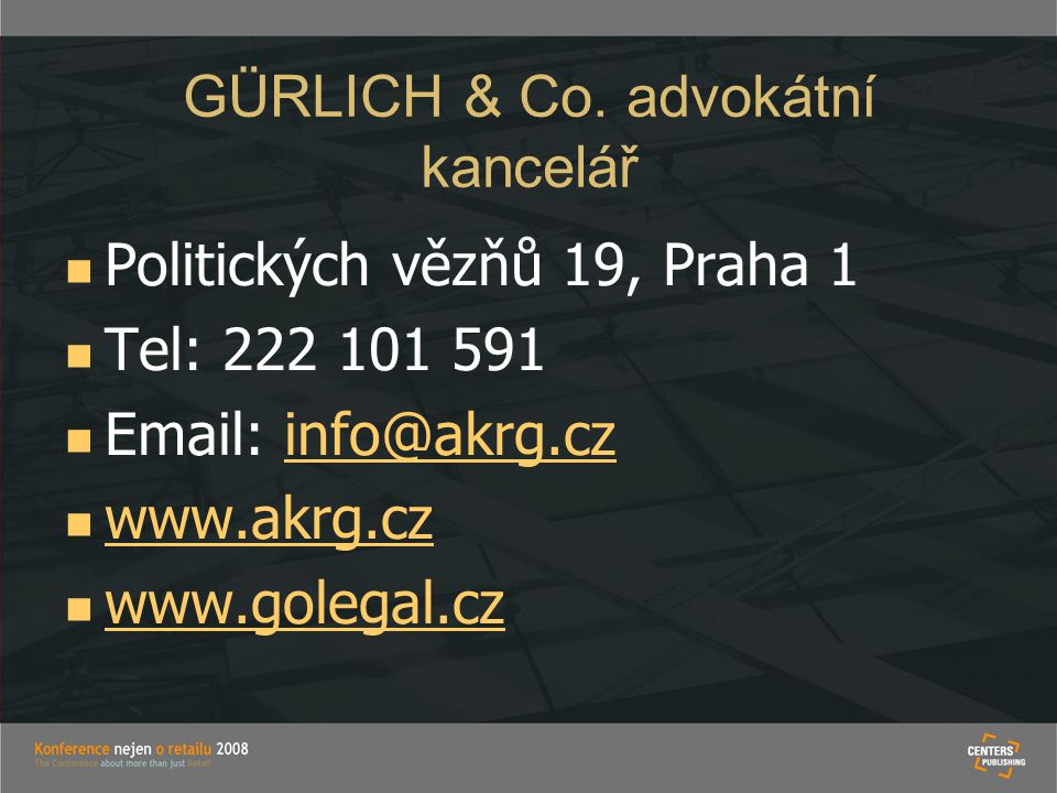 GÜRLICH & Co. advokátní kancelář