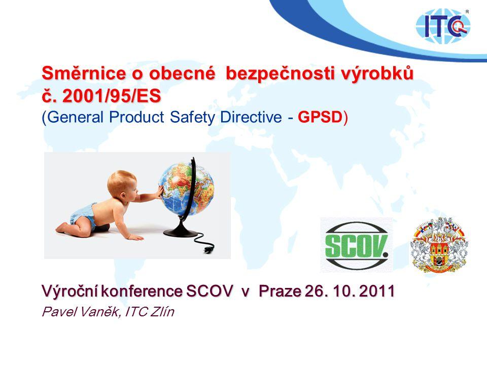 Výroční konference SCOV v Praze 26. 10. 2011 Pavel Vaněk, ITC Zlín
