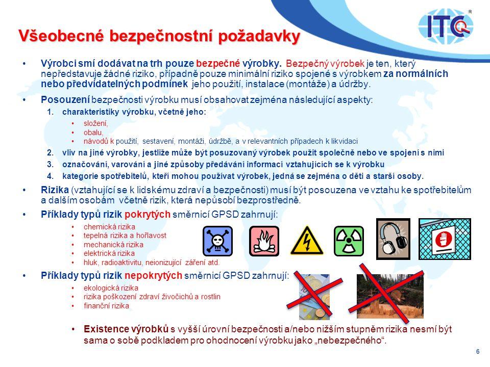 Všeobecné bezpečnostní požadavky