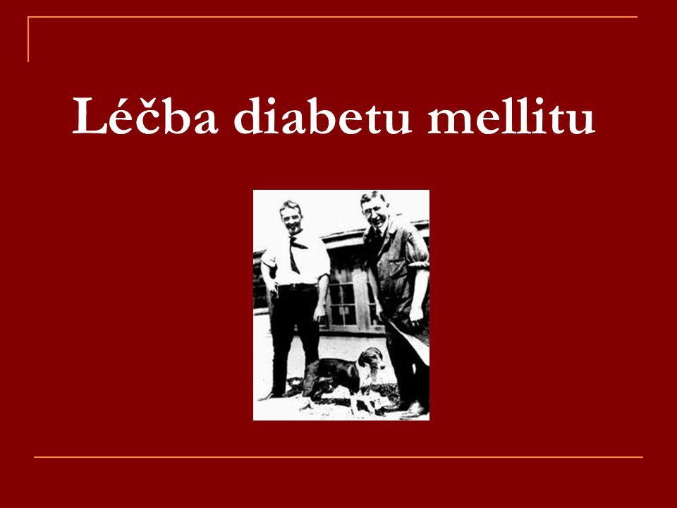 Léčba diabetu mellitu