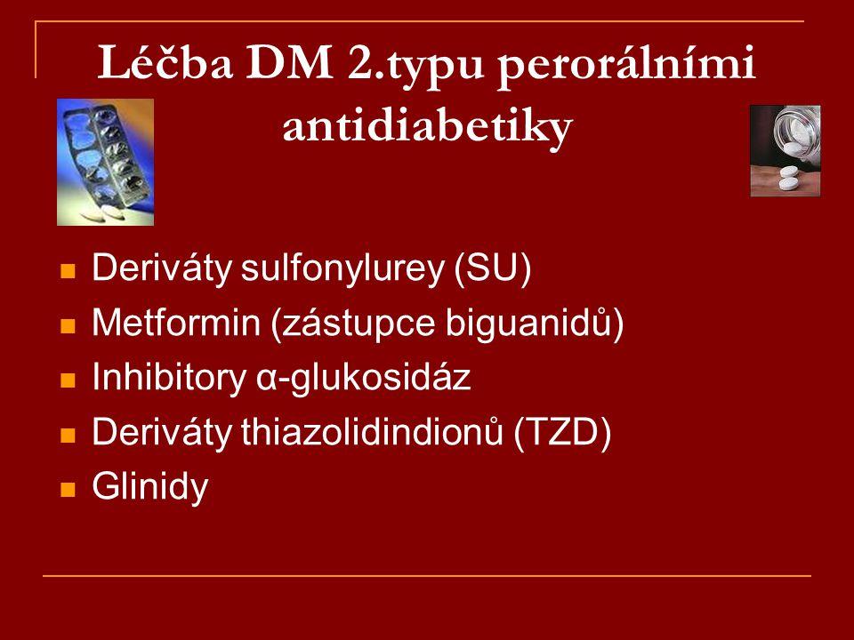 Léčba DM 2.typu perorálními antidiabetiky