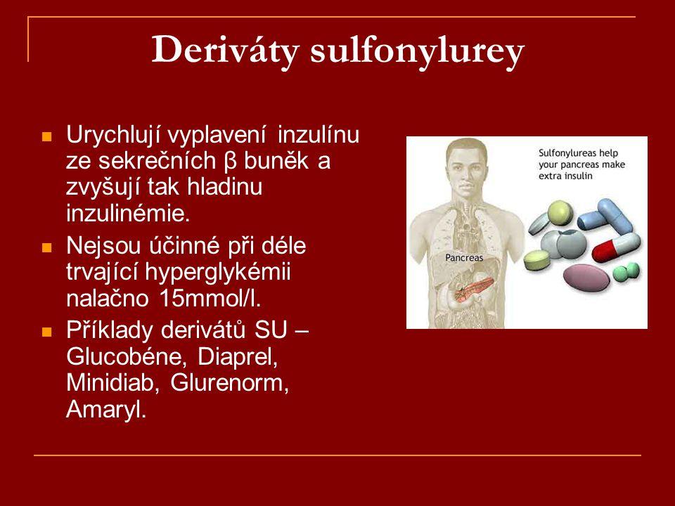 Deriváty sulfonylurey