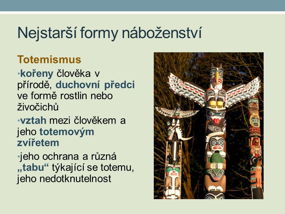 Nejstarší formy náboženství