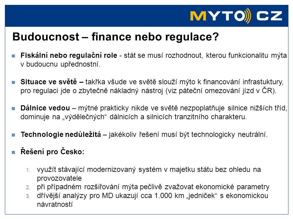 Budoucnost – finance nebo regulace