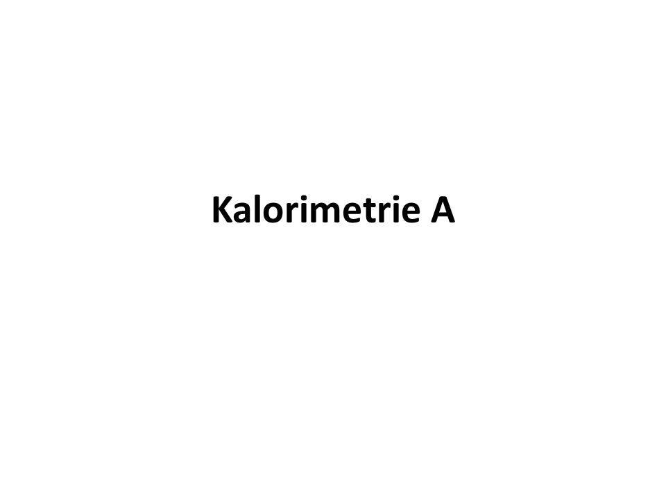 Kalorimetrie A
