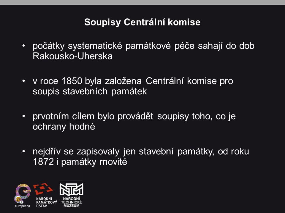 Soupisy Centrální komise