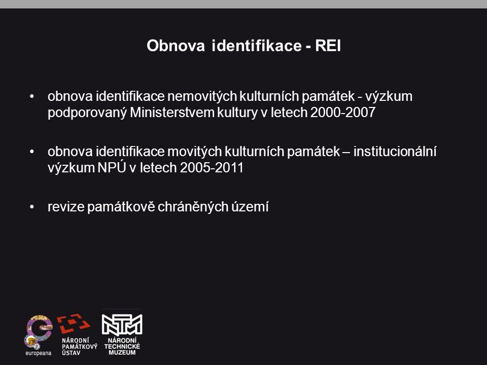 Obnova identifikace - REI