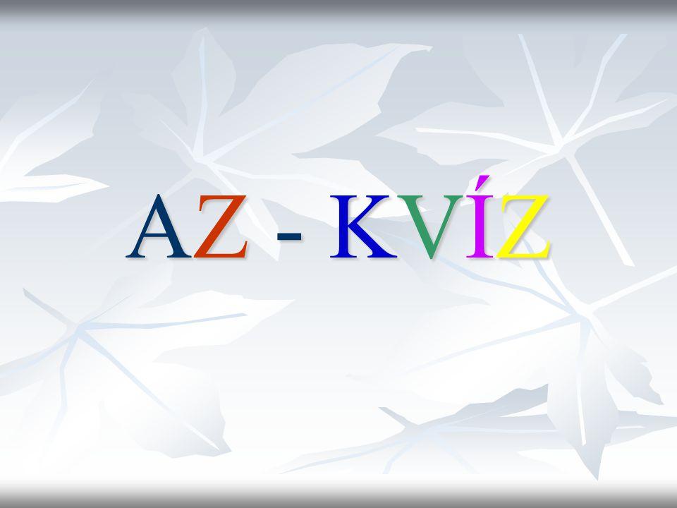 AZ - KVÍZ
