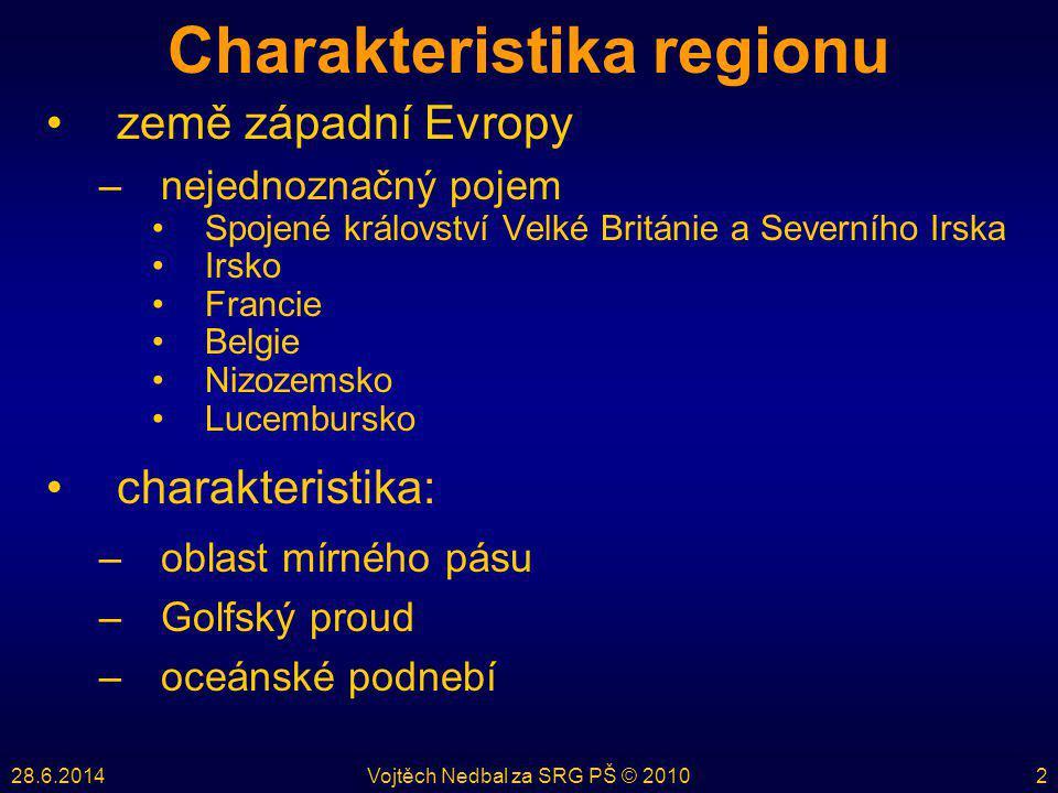 Charakteristika regionu