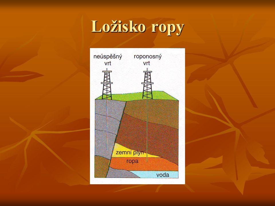 Ložisko ropy