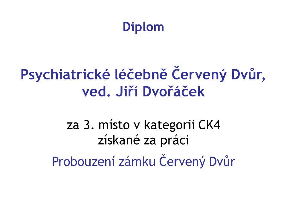 Psychiatrické léčebně Červený Dvůr, ved. Jiří Dvořáček