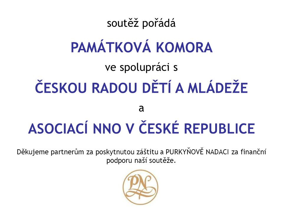 ČESKOU RADOU DĚTÍ A MLÁDEŽE ASOCIACÍ NNO V ČESKÉ REPUBLICE