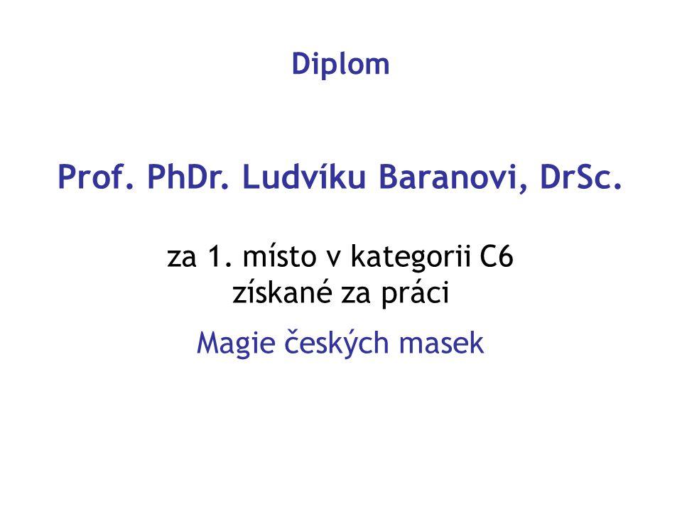 Prof. PhDr. Ludvíku Baranovi, DrSc.