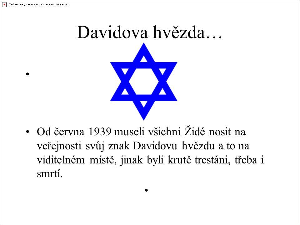 Davidova hvězda…